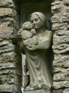 Chapel - John Bunting sculpture