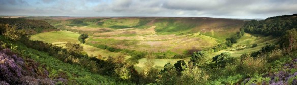 View of Hole of Horcum (part of Levisham Estate) - copyright Mike Kipling, NYMNPA