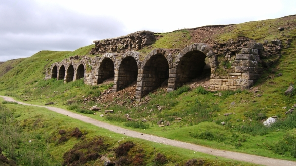 Rosedale Bank Top Calcining Kilns today - copyright NYMNPA.