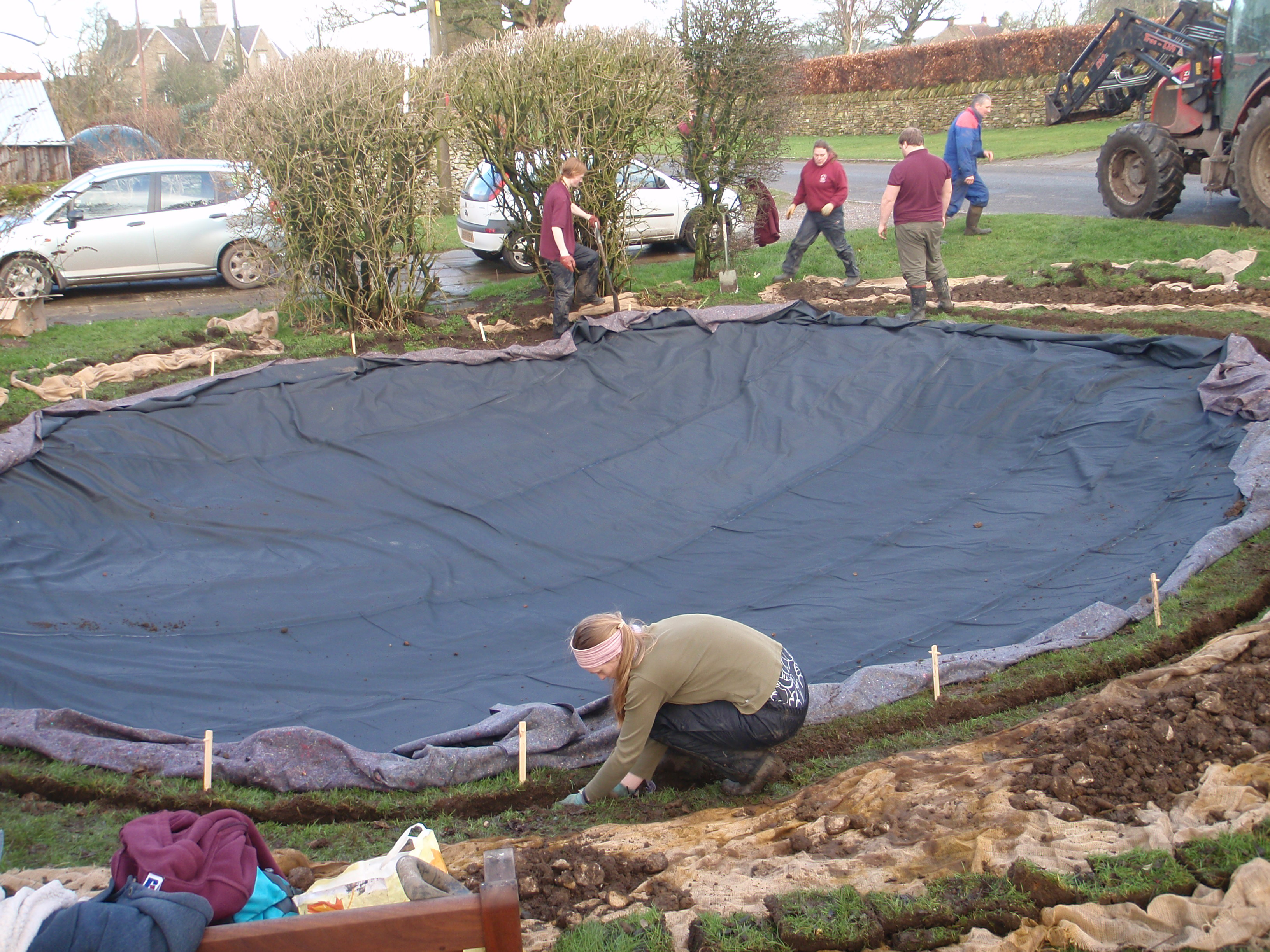 Revivifying a pond the official blog for the north york for Plastic yard ponds
