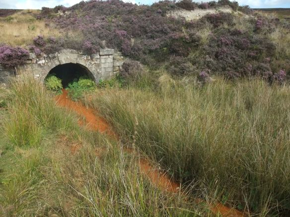 North York Moors - historic mine entrance