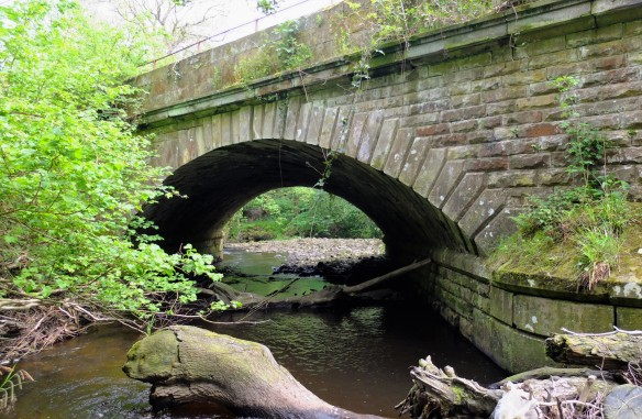 An original bridge on the 1836 Whitby to Pickering Railway