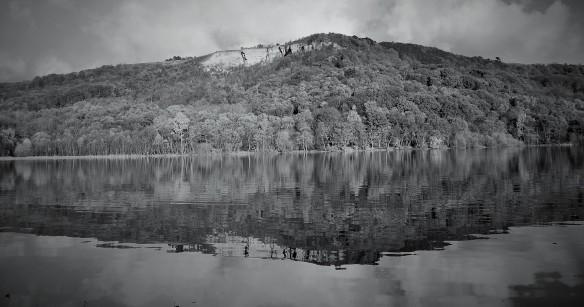 Lake Gormire towards Sutton Bank