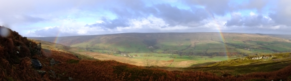 View across Rosedale from moorland edge - NYMNPA