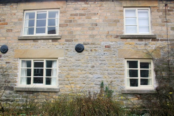 Traditional windows repaired and repainted. The characterful windows of the building are secured for many more years.