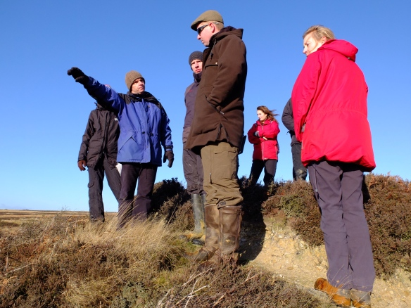 Silhowe January 2015 - group discussing proposals - by Emily Collins