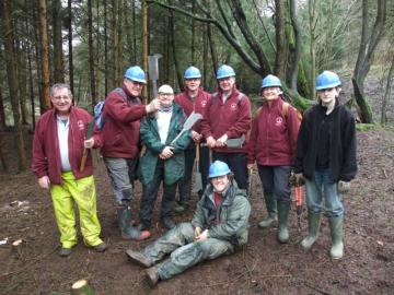 River Esk Volunteers - conifer thinning