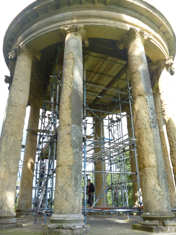 Ionic Temple - repair work 2014/15 - NYMNPA
