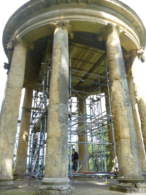 Ionic Temple - repair work 2014/15 - NYMNPA