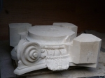 Ionic Temples - replacement stone carved features