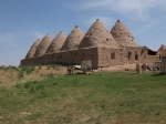 Photograph of Harran, Turkey May 2013 traditional earth buildings by Louise Cooke