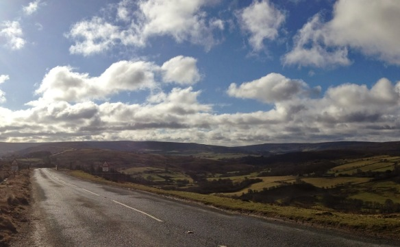 A lovely view over the moors - from A year of my nature hunting blog