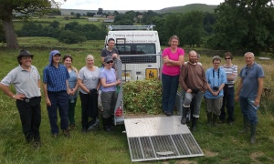 WREN FWPM Project - Himalayn balsam control - River Esk Volunteers Task - NYMNPA