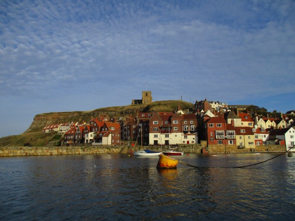 View looking back at Whitby - Ecologists Workshop Sept 2015 - copyright Kate Bailey, NYMNPA
