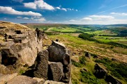Bilsdale from Wainstones - copyright Mike Kipling, NYMNPA
