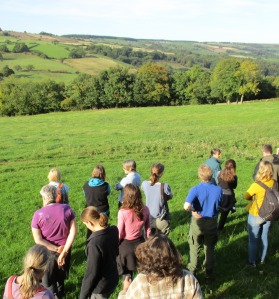 Esk Valley farmland - Ecologists Workshop 2015 - copyright Kate Bailey, NYMNPA