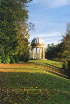 Ionic Temple, Duncombe Park (designed landscape) - copyright NYMNPA