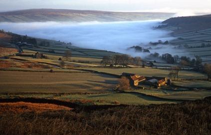 Mist in Fryupdale - copyright NYMNPA