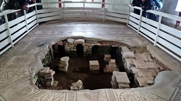 Roman Villa - South Downs NP, Farm Liaison Officers Meeting 2015 - copyright Roy McGhie, NYMNPA
