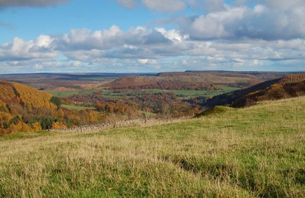 Tabular Hills in autumn - copyright Simon Bassindale, NYMNPA