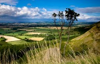 View from Carlton Bank towards Roseberry - copyright Mike Kipling, NYMNPA