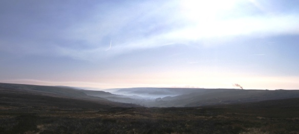 Winter view looking south down Rosedale - copyright Ami Walker, NYMNPA