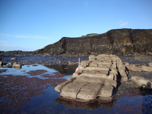 The foreshore slipway at Saltwick - copyright ARS Ltd.