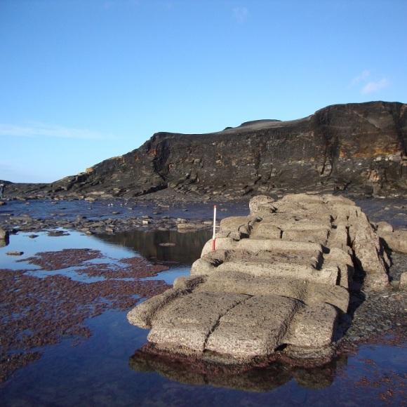 The foreshore slipway at Saltwick - copyright ARS Ltd.