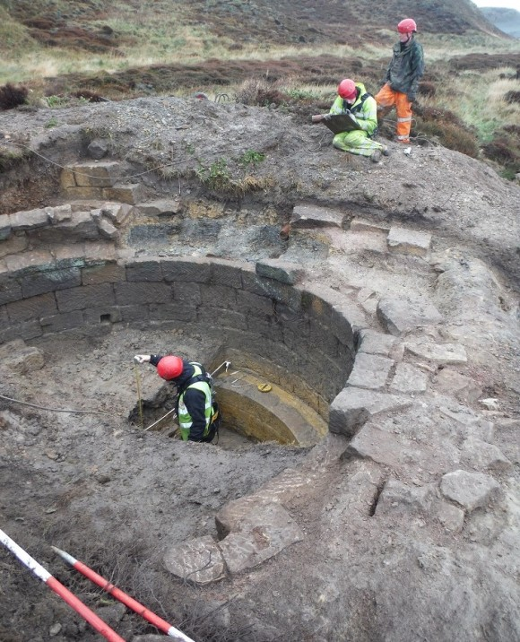 Excavating the cisterns at Boulby - copyright ARS Ltd.