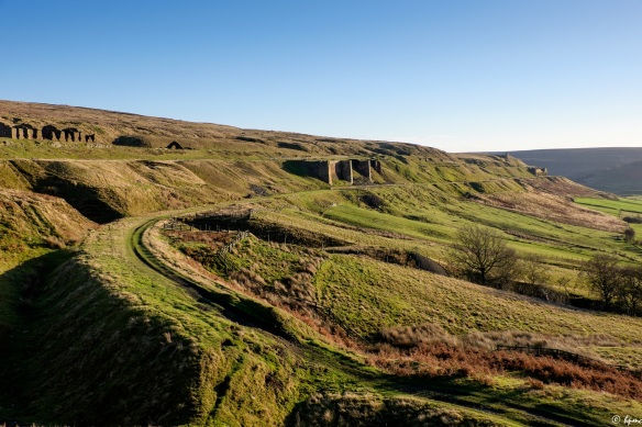 Rosedale East Mines and Railway Trackbed - copyright Paddy Chambers