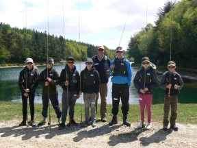 Young Anglers 2015 Taster Day. Copyright NYMNPA.