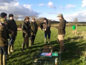 Gamekeeping techniques in practice at Loddington - copyright John Beech, NYMNPA