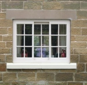 Yorkshire sliding sash window - copyright NYMNPA