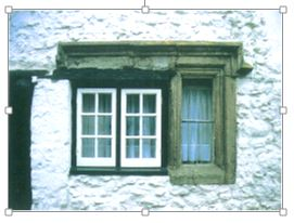 Part stone mullioned window - copyright NYMNPA.