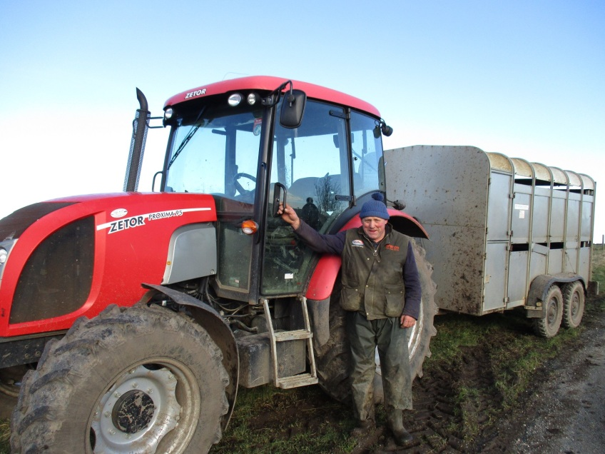 Mr Prudom, farmer from Mickleby - copyright NYMNPA