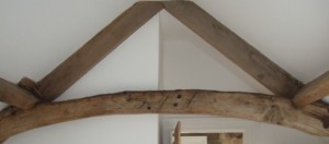 This barn retains its original chestnut roof structure which has a character that could not be replicated with new timbers. Copyright NYMNPA.