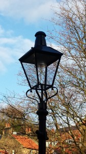 Victorian style metal lantern - Robin Hood's Bay. Image - Sea Life, See Life Project.