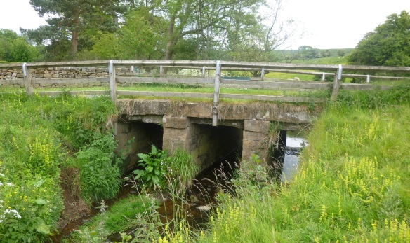 Clapper bridge carrying Ashfield Road/Wandels Lane across Danby Beck - copyright NYMNPA