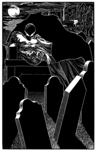 Illustration by Abigail Rorer from Dracula - www.foliosociety.com