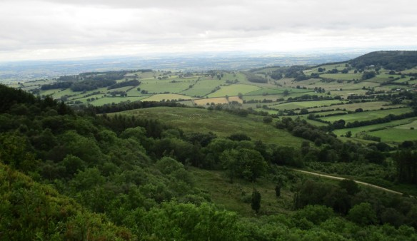 Landscape from top of escarpment, near Boltby - copyright Roy McGhie, NYMNPA.