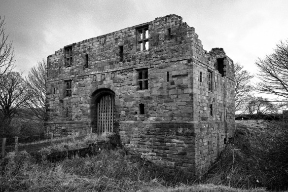 Whorlton Castle Gatehouse - copyright Paul D Hunter.