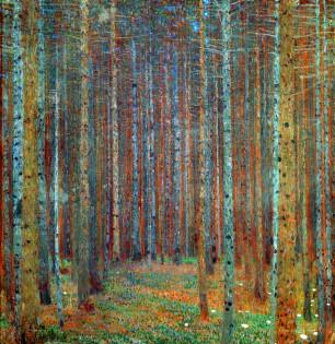 Tannenwald Pine Forest by Gustav Klimt - http://www.gustav.klimt.com