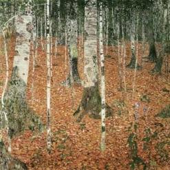 Birkenwald by Gustav Klimt - http://www.gustav-klimt.com