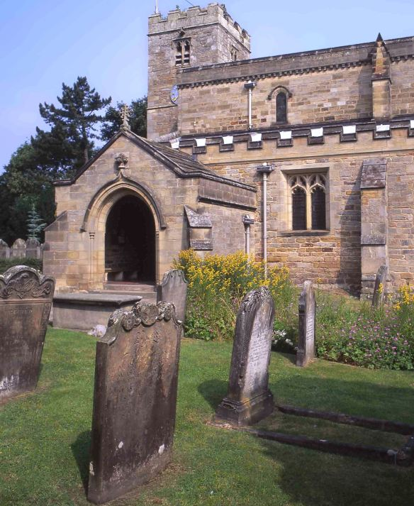 St Mary's Church, Lastingham - copyright NYMNPA.