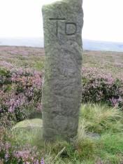 Boundary stone - copyright NYMNPA.
