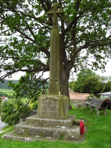 Glaisdale War Memorial. Copyright Mel Gibbs.
