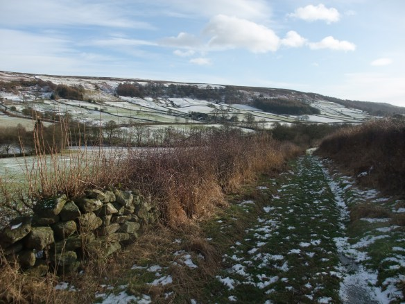 Malkin Bower, Bilsdale - in winter - copyright NYMNPA.