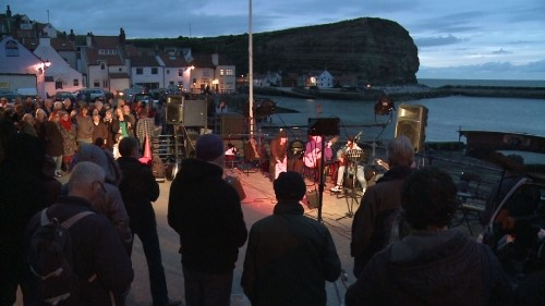 Staithes Festival 2012. Paul Bader/Screenhouse.