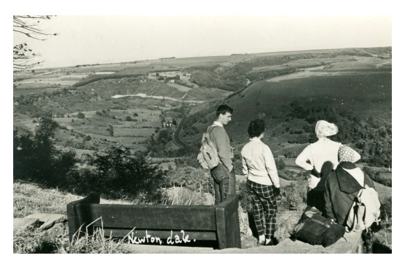 The 'then' photo - looking down Newtondale, 1960s.