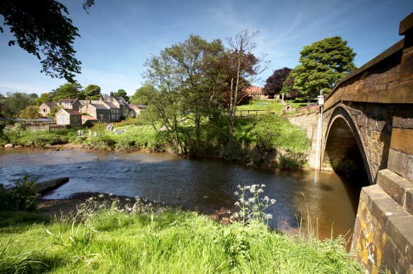 River Esk at Lealholm. COPYRIGHT CHRIS CEASER.